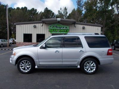 2015 Ford Expedition Limited 4 (Silver)