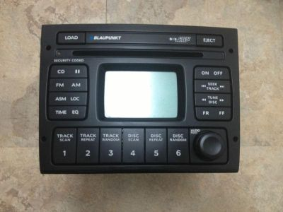 Sell 04 05 06 Pontiac GTO BLAUPUNKT Radio 6 Disc CD Changer Stereo Player motorcycle in Fredericksburg, Virginia, US, for US $125.00