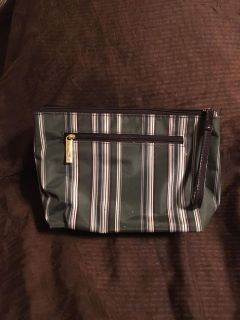 Pretty Nylon Make Up Cosmetic Bag Small spots on front, see last 2 pictures SWAP ONLY