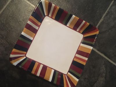 Pampered Chef Simple Additions Plate