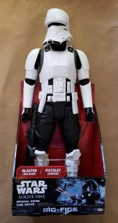 """Star Wars Rogue One Imperial Hover Tank Driver 18"""""""