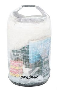 "Purchase Kwik Tek DRY PAK Roll Top Dry Gear Bag, 9"" x 16"", Mesh Reinforced Clear WB-3 motorcycle in Millsboro, Delaware, United States, for US $12.99"