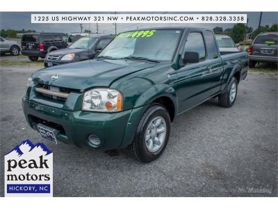 2001 Nissan Frontier XE (Green)