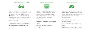 credit monitoring ,ELECTRICITY 9.3 rate, AND cell phone service
