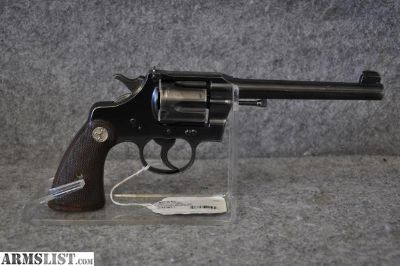 For Sale: Colt Officers Model - 2nd Issue in 38SPL caliber