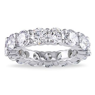 SALE TODAY CLEARANCE ***BRAND NEW***5 CTTW CZ Eternity Ring***SZ 9