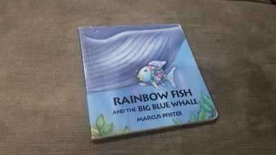 Rainbow Fish and the Bug Blue Whale board book