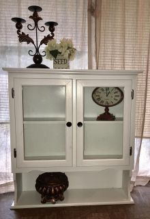 Great White Cabinet/Hutch 35 widex 38 tall HEAVY