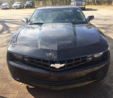 2012 Chevrolet Camaro LS (Black)