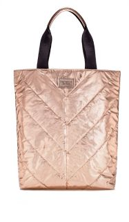 Victoria's Secret rose gold limited edition tote nwt