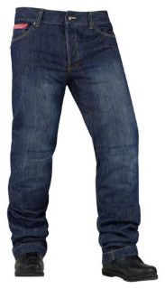 Sell Icon Strongarm 2 Riding Pants Blue motorcycle in Holland, Michigan, United States, for US $105.00