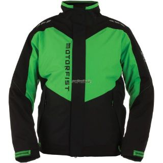 Sell 2017 Motorfist Clutch Jacket-Black/Green motorcycle in Sauk Centre, Minnesota, United States, for US $299.99