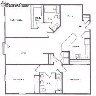 $1299 3 apartment in Carmel
