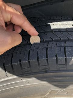 (Like new!) 5 Tires