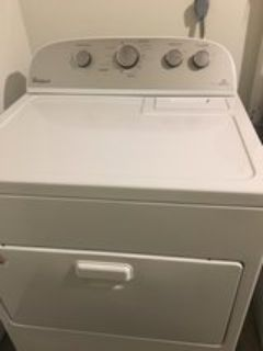 1 YEAR OLD WHIRLPOOL WASHER & DRYER
