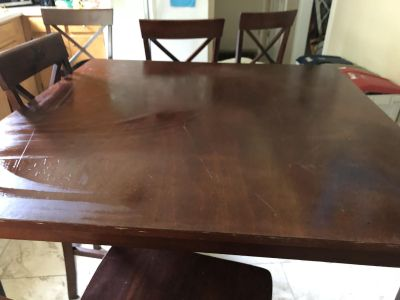 Two tables (can sell separately)