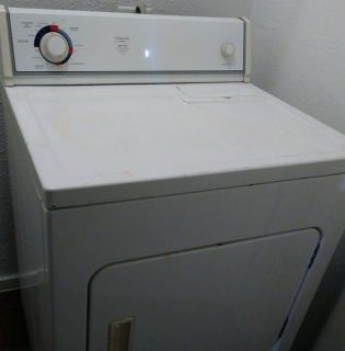 GE electric dryer 1 yr old..works great....moving and apartment already have a dryer....no issue...