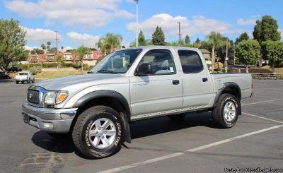 2002 Toyota Tacoma Silver Truck