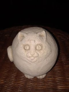 Stone Carved Cat