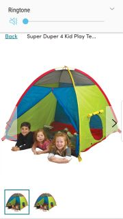 Best Offer ~ Pacific Play Tent / Carry Bag / Instructions Used