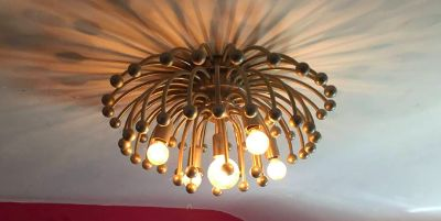 Mid-Century Modern Anemone Ceiling or Table Light