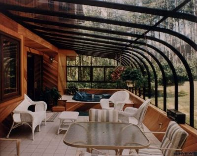 SUNROOMS SOLARIUMS DECKS PATIOS GAZEBOS ARBORS BUILDERS