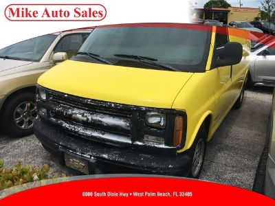 2002 Chevrolet Express 1500 1500 (YELLOW)