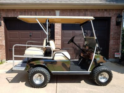 Club Car Camo Golf Cart