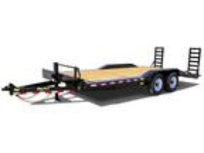Big Tex 14000 Equipment Trailer w Drive-Over Fenders