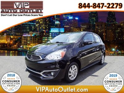 2018 Mitsubishi Mirage ES (Black)