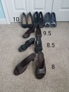 Womens shoes see pictures for sizes each pair $2