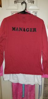 Red Long Sleeve Sz.S