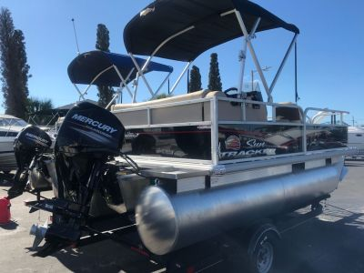 2018 Sun Tracker Bass Buggy 16 Pontoons Holiday, FL
