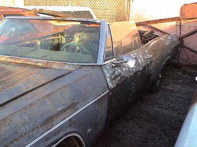 1966 Chevy Impala convertible SS