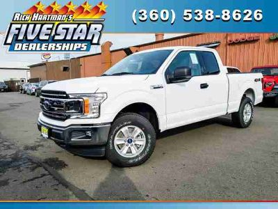 New 2019 Ford F-150 4WD SuperCab 6.5' Box