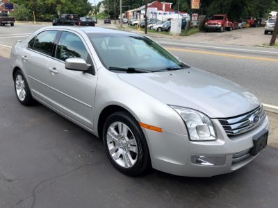 2008 Ford Fusion V6 SEL (Silver Birch Metallic)