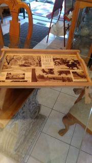 Know Someone Born in 1939 (They Would Be 78 Today) - Blonde Wood TV Tray w/Original Newspaper From The Denver Post, December 17, 1939
