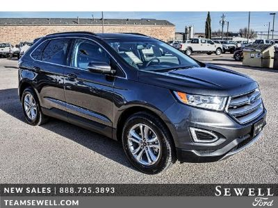 2018 Ford Edge SEL FWD (gray)