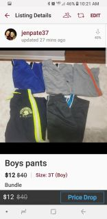 Boys size 3t pants great condition