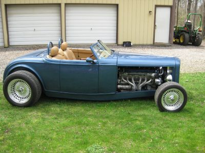 32 Ford/Jag Roadster