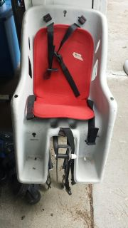 Child seat for adult bicycle