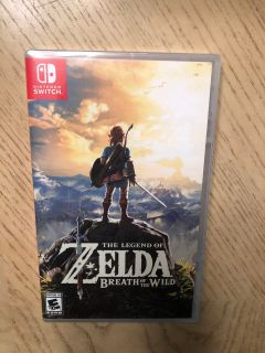 Zelda Breath of the Wild game for Nintendo Switch - Brand New