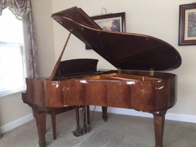 Baby Grand Piano, Schafer & Sons