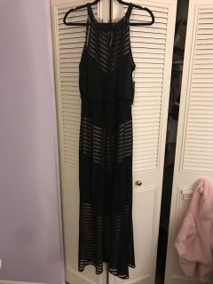*NEW-TAGS ON* size 8 black cocktail gown