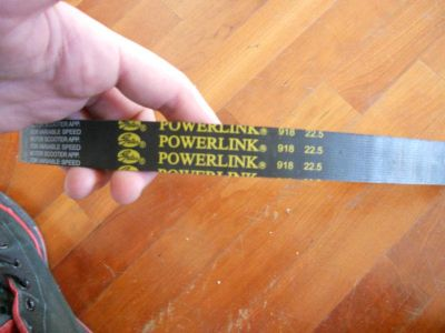Sell 918-22.5 GATES POWERLINK SCOOTER MOPED GO-KART ATV QUAD GY6 250 250CC BELT DRIVE motorcycle in Dunedin, Florida, US, for US $20.00