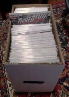Box full of Comics