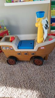 Toddler ride on toy- pirate ship