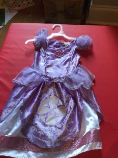 Sofia The First costume / dress up 2T
