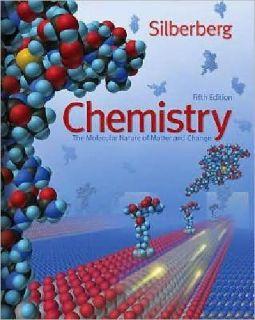 $15 OBO Chemistry, 5th edition, Silberberg, U of MN, General Chemistry 1 & 2